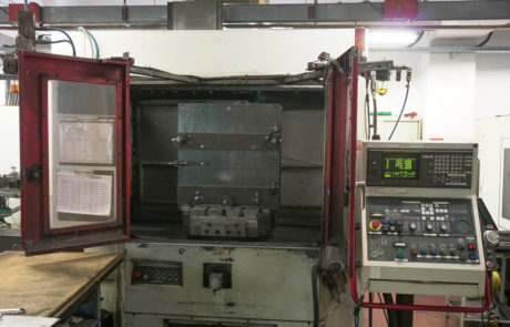 Two-track machining centre Quaser MK60