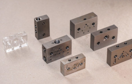 Blocks for lubrical assemblies
